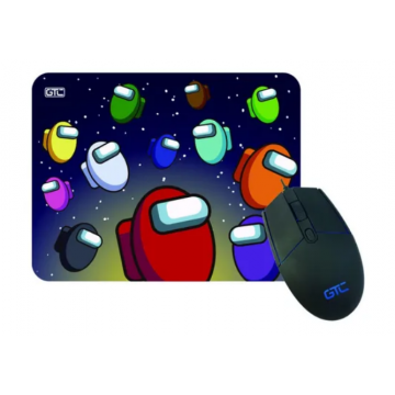 Combo Gamer Mouse con Pad...